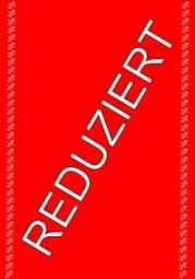 Kundenstopper Papier-Plakat A1 Kundenstopper REDUZIERT % (schräg)