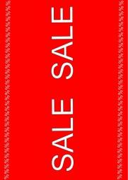 Kundenstopper Papier-Plakat A1 Kundenstopper SALE SALE %