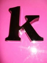Acryloxbuchstaben (Materialstärke: 19 mm)