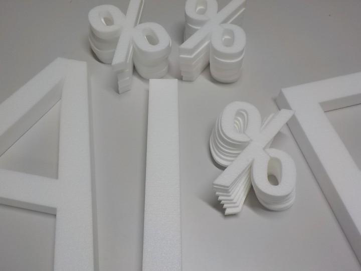 styropor zeichen 20x sale 1x deko figuren shop. Black Bedroom Furniture Sets. Home Design Ideas