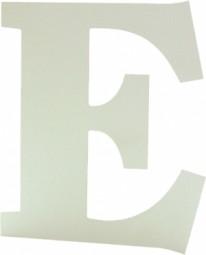 Aluminium eloxiert Buchstaben / Schriften Materialstärke: 3 mm