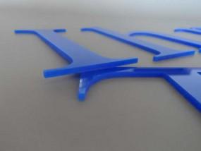 Acryloxbuchstaben (Materialstärke: 8 mm)
