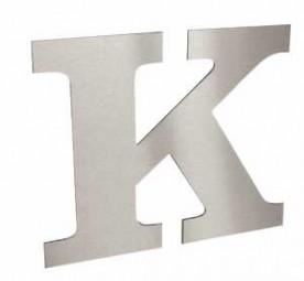 Dibond Buchstaben geschliffen oder silber Materialstärke 3 mm-Copy