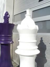 Leichte XXL-Messedekorationen Schachfiguren XL