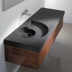 Schalungsbau- Waschbecken