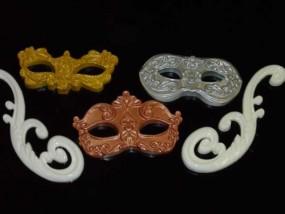 Schnörkel, Zierschnörkel, Zierelemente für Fassade, Wände oder andere Verwendungen