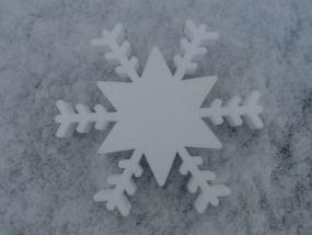 Schneekristall Motiv 10