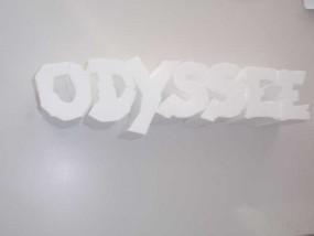 Styroporbuchstaben 21 cm - 24 cm