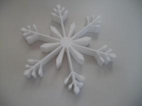 Schneekristall Motiv 1