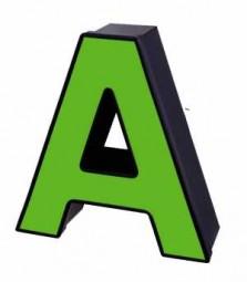 Profil 5 - Aluminiumbuchstabe ohne Beleuchtung
