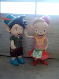 XL- Figuren für Kinder