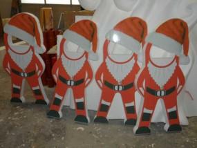 Nikolaus- Werbefiguren, Aufsteller -Unikate- speziell für Sie angefertigte Figuren