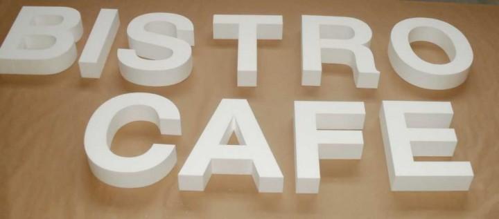 Styroporbuchstaben 46 cm - 50 cm | Styroporbuchstaben roh (Zuschnitt ...