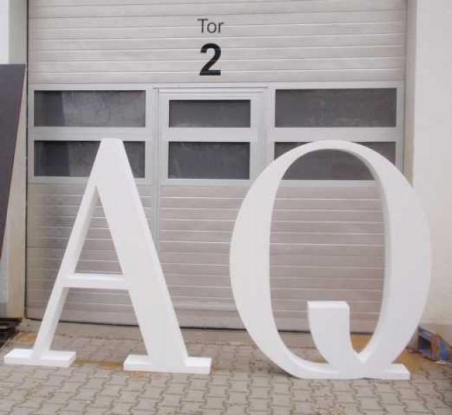3D Buchchstaben aus Styropor | Deko-figuren-Shop