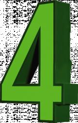 Profil 4 -Direkt beleuchtete Aluminiumbuchstaben