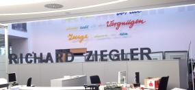 Styroporbuchstaben farbig 21 cm - 25 cm