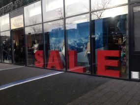 SALE 3D-Buchstaben (zur Vermietung)