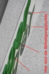 Befestigungs-Clips-System 15 mm (weiß/transparent) (Wandabstandshalter)
