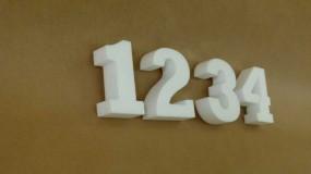Styroporbuchstaben 16 cm - 20 cm