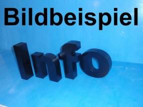 Styrodurbuchstaben farbig 31 cm - 35 cm