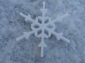 Schneekristall Motiv 7