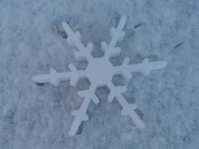 Schneekristall Motiv 4