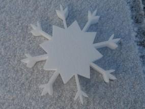 Schneekristall Motiv 12